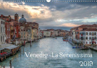 Venedig - La Serenissima 2019 (Wandkalender 2019 DIN A3 quer), Sascha Haas