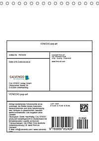 VENEDIG pop-art (Tischkalender 2019 DIN A5 hoch) - Produktdetailbild 13