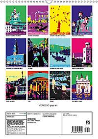 VENEDIG pop-art (Wandkalender 2019 DIN A3 hoch) - Produktdetailbild 13