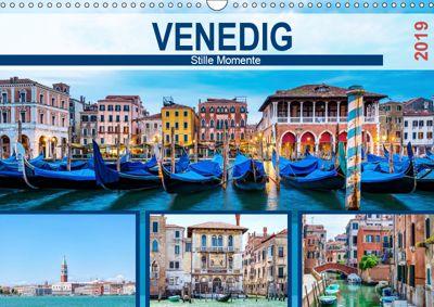 Venedig - Stille Momente (Wandkalender 2019 DIN A3 quer), Hetizia