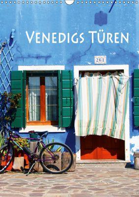 Venedigs Türen (Wandkalender 2019 DIN A3 hoch), Helene Seidl
