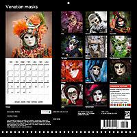 Venetian masks (Wall Calendar 2019 300 × 300 mm Square) - Produktdetailbild 13