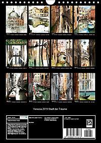 Venezia 2019 Stadt der Träume (Wandkalender 2019 DIN A4 hoch) - Produktdetailbild 13
