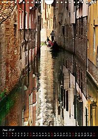 Venezia 2019 Stadt der Träume (Wandkalender 2019 DIN A4 hoch) - Produktdetailbild 3