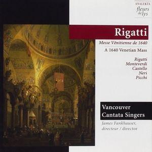 Venezianische Messe Um 1640, Vancouver Cantatata Singers