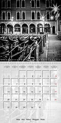 VENICE Monochrome Nightscapes (Wall Calendar 2019 300 × 300 mm Square) - Produktdetailbild 5