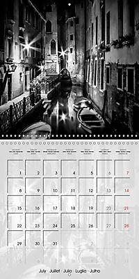 VENICE Monochrome Nightscapes (Wall Calendar 2019 300 × 300 mm Square) - Produktdetailbild 7