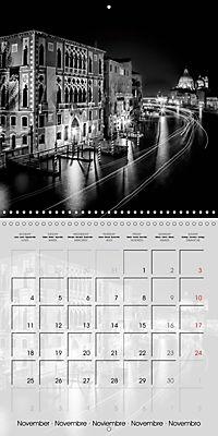 VENICE Monochrome Nightscapes (Wall Calendar 2019 300 × 300 mm Square) - Produktdetailbild 11