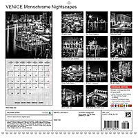 VENICE Monochrome Nightscapes (Wall Calendar 2019 300 × 300 mm Square) - Produktdetailbild 13