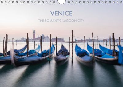 Venice the romantic lagoon city (Wall Calendar 2019 DIN A4 Landscape), Bianca Ressl