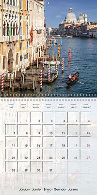 VENICE Unique attractions (Wall Calendar 2019 300 × 300 mm Square) - Produktdetailbild 1
