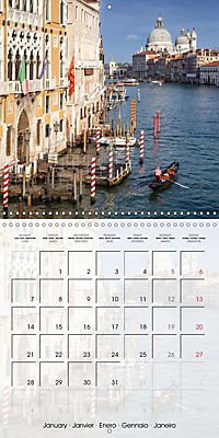 VENICE Unique attractions (Wall Calendar 2019 300 × 300 mm Square) - Produktdetailbild 1