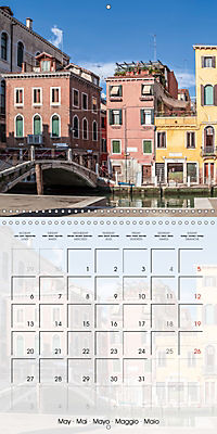 VENICE Unique attractions (Wall Calendar 2019 300 × 300 mm Square) - Produktdetailbild 5