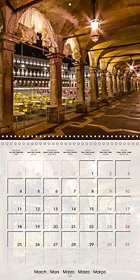 VENICE Unique attractions (Wall Calendar 2019 300 × 300 mm Square) - Produktdetailbild 3
