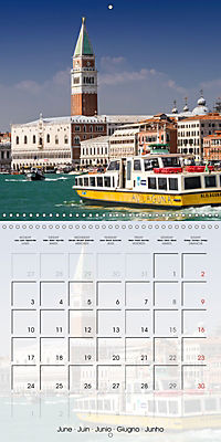 VENICE Unique attractions (Wall Calendar 2019 300 × 300 mm Square) - Produktdetailbild 6