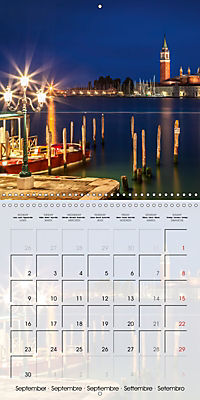 VENICE Unique attractions (Wall Calendar 2019 300 × 300 mm Square) - Produktdetailbild 9
