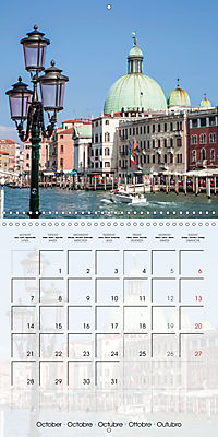 VENICE Unique attractions (Wall Calendar 2019 300 × 300 mm Square) - Produktdetailbild 10