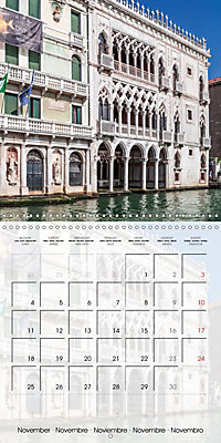 VENICE Unique attractions (Wall Calendar 2019 300 × 300 mm Square) - Produktdetailbild 11