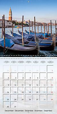 VENICE Unique attractions (Wall Calendar 2019 300 × 300 mm Square) - Produktdetailbild 12