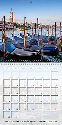VENICE Unique attractions (Wall Calendar 2019 300 × 300 mm Square) - Produktdetailbild 12