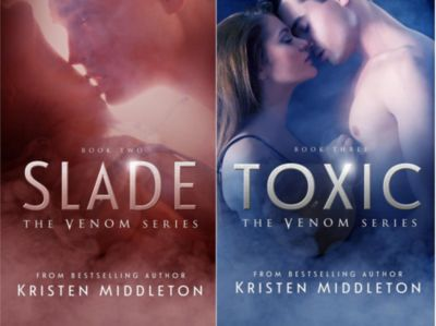 Venom Series (Books 2 and 3), Kristen Middleton
