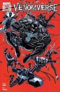 Venomverse - Schwarze Seelen, Cullen Bunn, Iban Coello