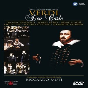 Verdi, Giuseppe - Don Carlos, Muti, Pavarotti, Ramey, Coni