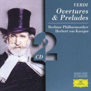 Verdi: Overtures & Preludes, Herbert von Karajan, Bp