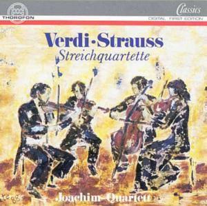 Verdi/strauss: Streichquartett, Joachim-Quartett