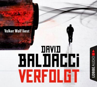 Verfolgt, 6 Audio-CDs, David Baldacci