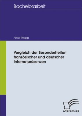 Vergleich der Besonderheiten französischer und deutscher Internetpräsenzen, Anika Philipp