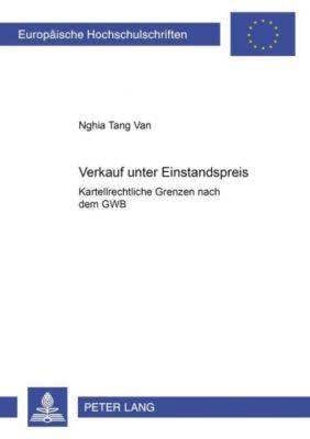 Verkauf unter Einstandspreis, Nghia Tang Van