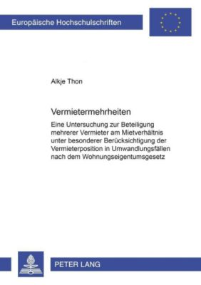 Vermietermehrheiten, Alkje Thon