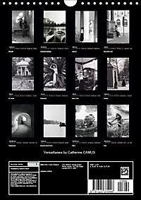 Versaillaises by Catherine CAMUS (Wall Calendar 2019 DIN A4 Portrait) - Produktdetailbild 13