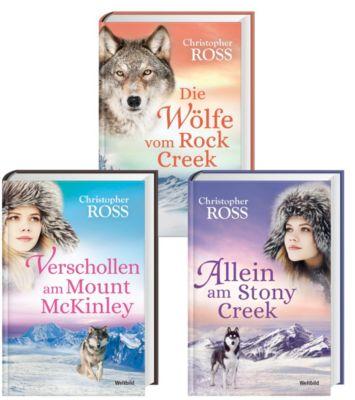 Verschollen am Mount McKinley/Die Wölfe vom Rock Creek/Allein am Stony Creek, Christopher Ross