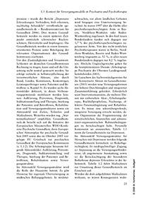 Versorgungsmodelle in Psychiatrie und Psychotherapie - Produktdetailbild 9