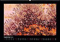 Versteinerte Miniaturwelten - Farbenspiele auf Solnhofener Plattenkalk (Wandkalender 2019 DIN A2 quer) - Produktdetailbild 9
