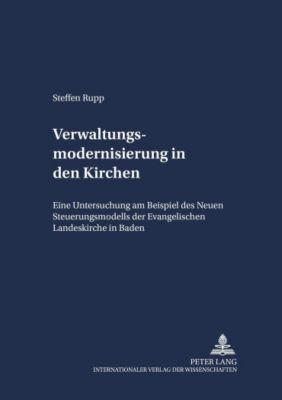 Verwaltungsmodernisierung in der Kirche, Steffen Rupp