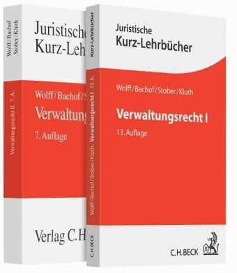 Verwaltungsrecht, 2 Bde.