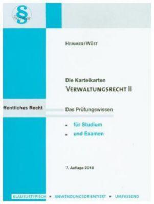 Verwaltungsrecht II, Lernkarten, Karl-Edmund Hemmer, Achim Wüst