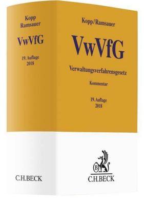 Verwaltungsverfahrensgesetz (VwVfG), Kommentar, Ferdinand O. Kopp, Ulrich Ramsauer