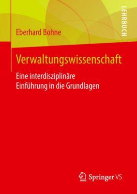 Verwaltungswissenschaft, Eberhard Bohne