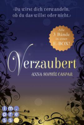 Verzaubert: Verzaubert: Alle Bände der Fantasy-Bestseller-Trilogie in einer E-Box!, Anna-Sophie Caspar