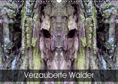 Verzauberte WälderAT-Version (Wandkalender 2019 DIN A3 quer), Elken Schlüfter