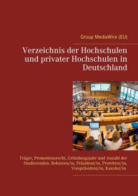 Verzeichnis der Hochschulen und privater Hochschulen in Deutschland, Heinz Duthel