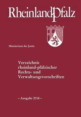 Verzeichnis rheinland-pfälzischer Rechts- und Verwaltungsvorschriften