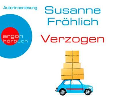 Verzogen, 4 Audio-CDs, Susanne Fröhlich