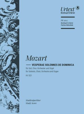 Vesperae de Dominica KV 321 - Wolfgang Amadeus Mozart |