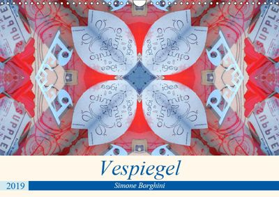 Vespiegel (Wandkalender 2019 DIN A3 quer), Simone Borghini