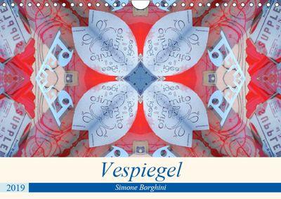 Vespiegel (Wandkalender 2019 DIN A4 quer), Simone Borghini